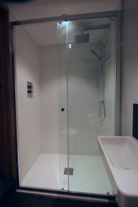 New shower room