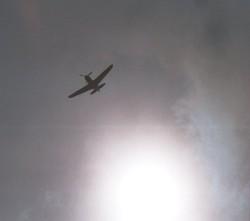 Bf109 in the sun - high!