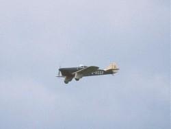 Miles Hawk Speed 6 G-ADGP passing the marshal line