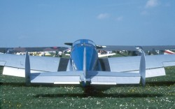 Miles Messenger G-AKVZ rear view