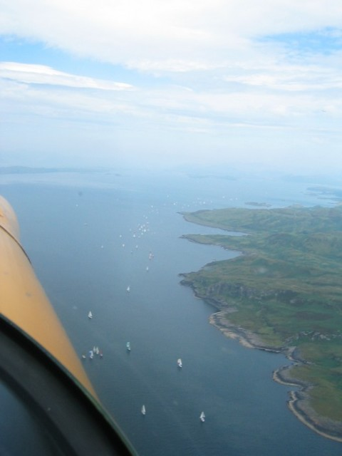 West Highland Yachting week: just off Kerrera Island