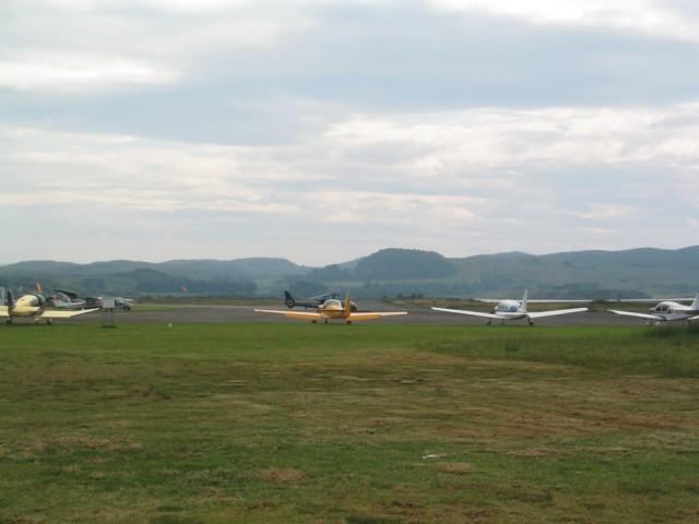 Planes at Oban